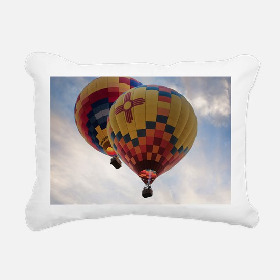 Balloon Poster Rectangular Canvas Pillow