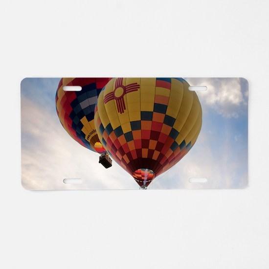 Balloon Poster Aluminum License Plate