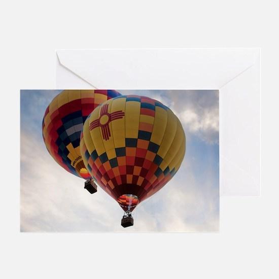Balloon Poster Greeting Card