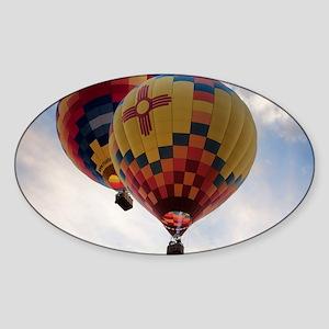 Balloon Poster Sticker (Oval)