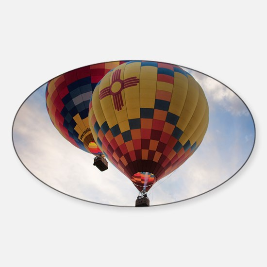 Balloon Poster Sticker (Oval)