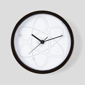 10x10_apparel_AtomW Wall Clock