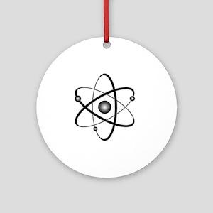 10x10_apparel_Atom Round Ornament