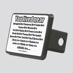 jamaica shirts you lived n Rectangular Hitch Cover