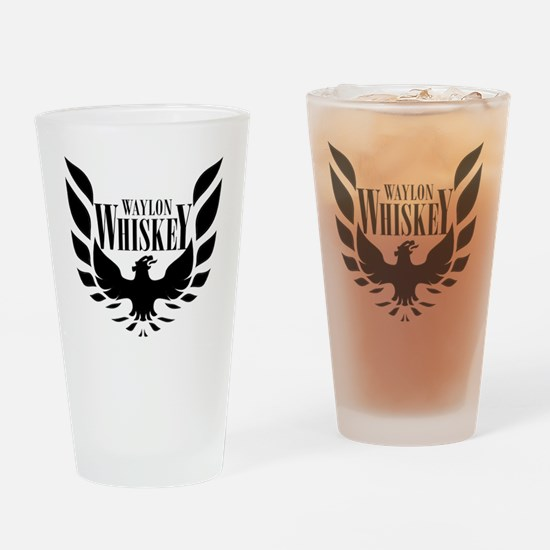 waylonlogo_light2 Drinking Glass