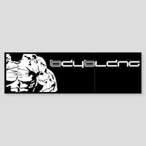 Muscle Series Bumper Sticker (black)