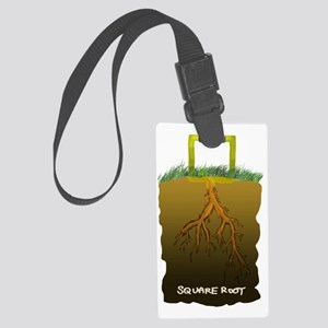 SAT_root_square Large Luggage Tag