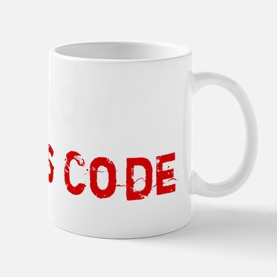 follow-harrys-code Mug