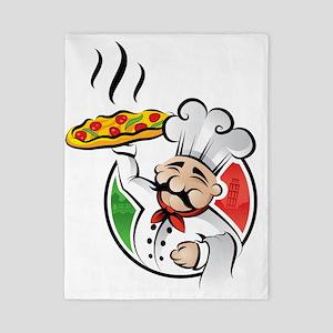 PizzaCasa LOGO Twin Duvet