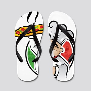 PizzaCasa LOGO Flip Flops