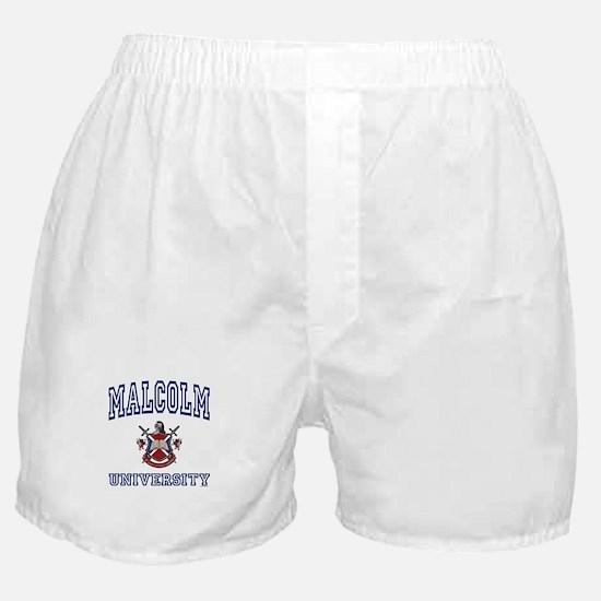 MALCOLM University Boxer Shorts