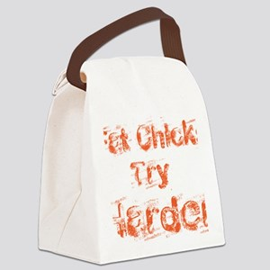 fat chicks Canvas Lunch Bag