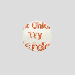 fat chicks Mini Button