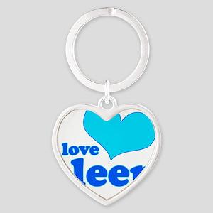 ILSLEEP Heart Keychain