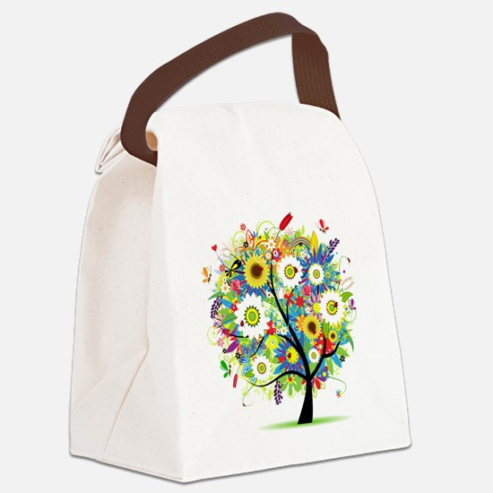 Trees5 [Converted] Canvas Lunch Bag