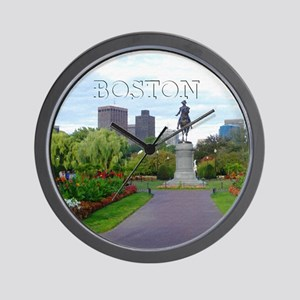Boston_4.25x4.25_Tile Coaster_BostonPub Wall Clock