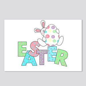 Bunny With Easter Egg Postcards (Package of 8)