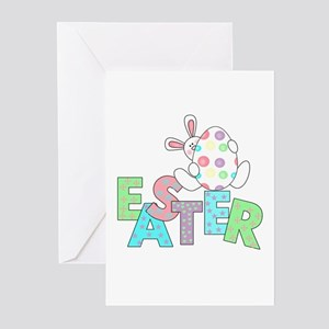 Adult easter greeting cards cafepress bunny with easter egg greeting cards pk of 10 m4hsunfo