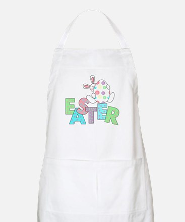 Bunny With Easter Egg BBQ Apron