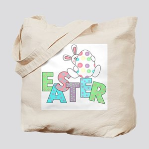 Bunny With Easter Egg Tote Bag