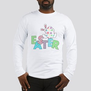 Bunny With Easter Egg Long Sleeve T-Shirt