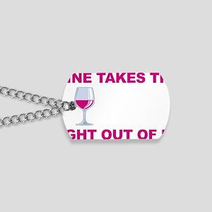 Wine-Bitch-blk Dog Tags