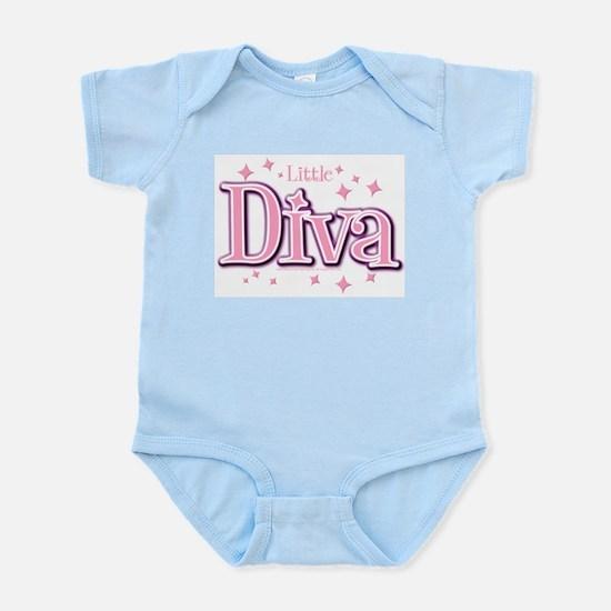 Little Diva Classic Infant Bodysuit (Pink)