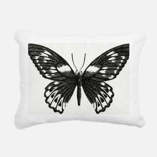 butterflydarksm Rectangular Canvas Pillow