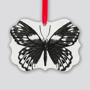 butterflydarksm Picture Ornament