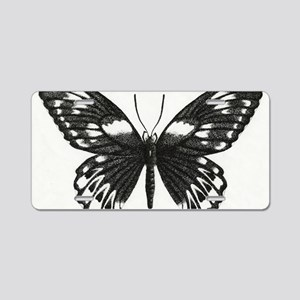 butterflydarksm Aluminum License Plate
