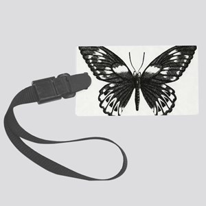 butterflydarksm Large Luggage Tag