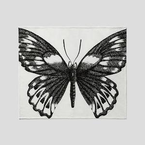 butterflydarksm Throw Blanket