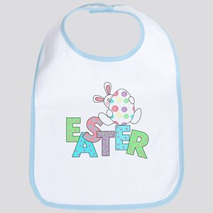 Bunny With Easter Egg Bib