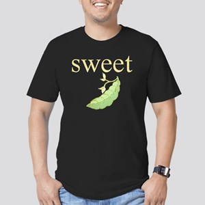 Personality_SweetPea Men's Fitted T-Shirt (dark)