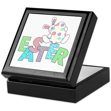 Bunny With Easter Egg Keepsake Box