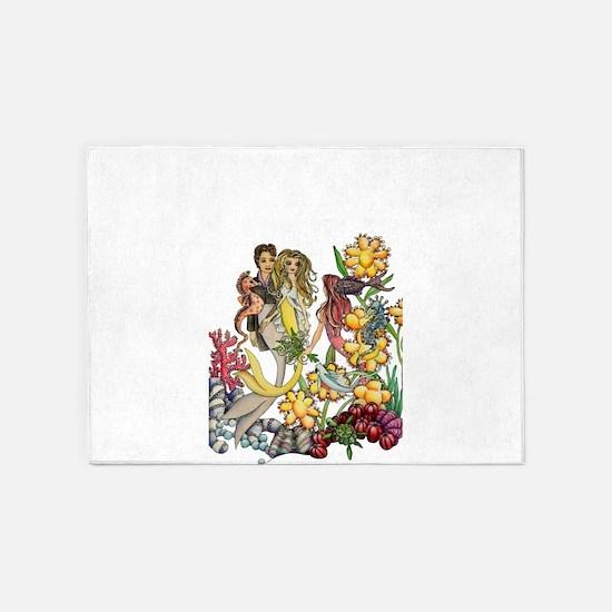 Bouquet 5'x7'Area Rug