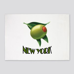 OLIVE NEW YORK 5'x7'Area Rug