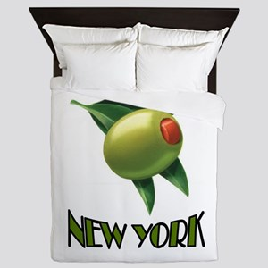 OLIVE NEW YORK Queen Duvet