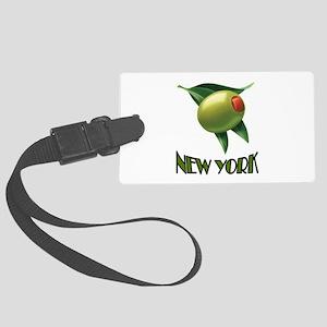 OLIVE NEW YORK Large Luggage Tag