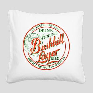 bushkillbeer37 Square Canvas Pillow