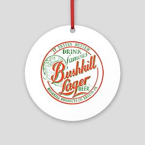 bushkillbeer37 Round Ornament