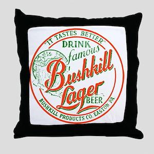 bushkillbeer37 Throw Pillow
