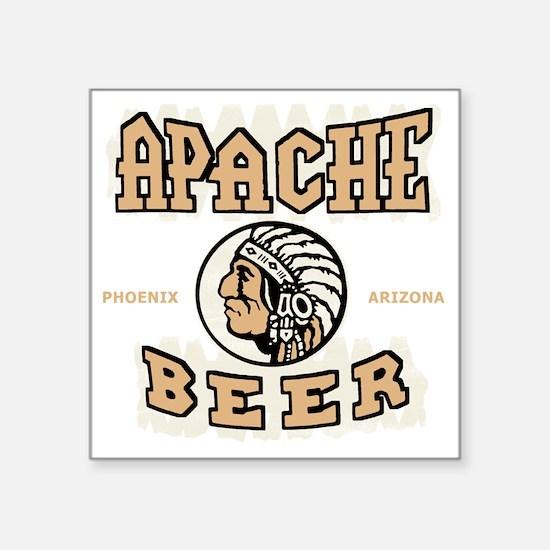 """apachebeercolor Square Sticker 3"""" x 3"""""""