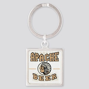 apachebeercolor Square Keychain