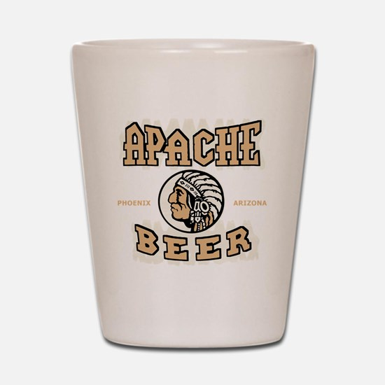 apachebeercolor Shot Glass