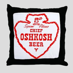 oshkoshbeer1951 Throw Pillow