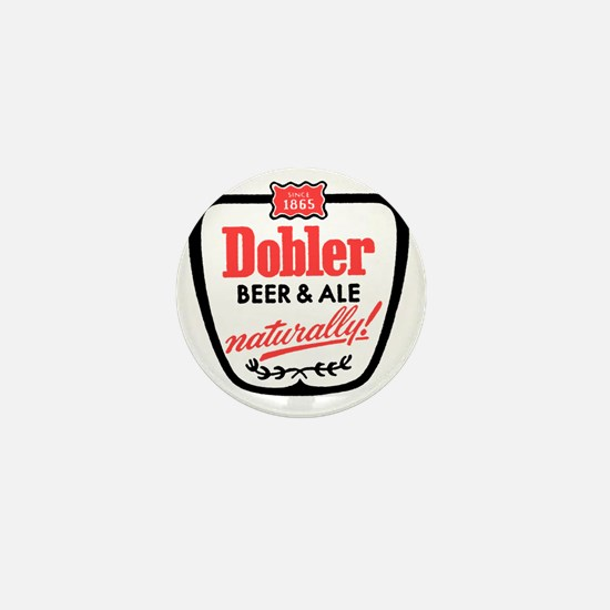 doblerbeerwhite Mini Button