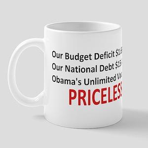 Anti Obama - Pricel... Mug