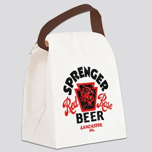 sprengerredrosebeer Canvas Lunch Bag