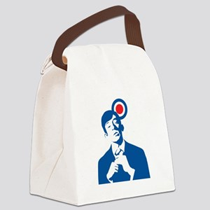 mods Canvas Lunch Bag